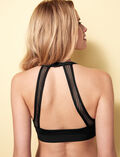Wireless bandeau bikini top Black Bagheera