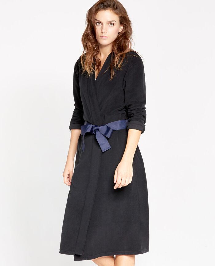IGLOO Black Dressing gown