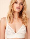 MONICA Rose white Soft cup bra