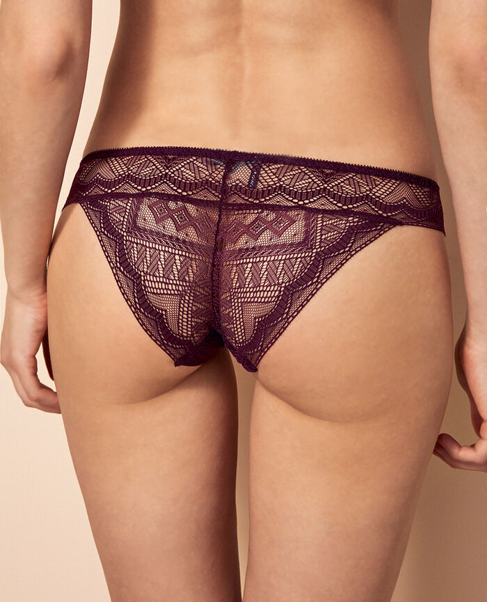 Hipster briefs Ethnic purple Passion