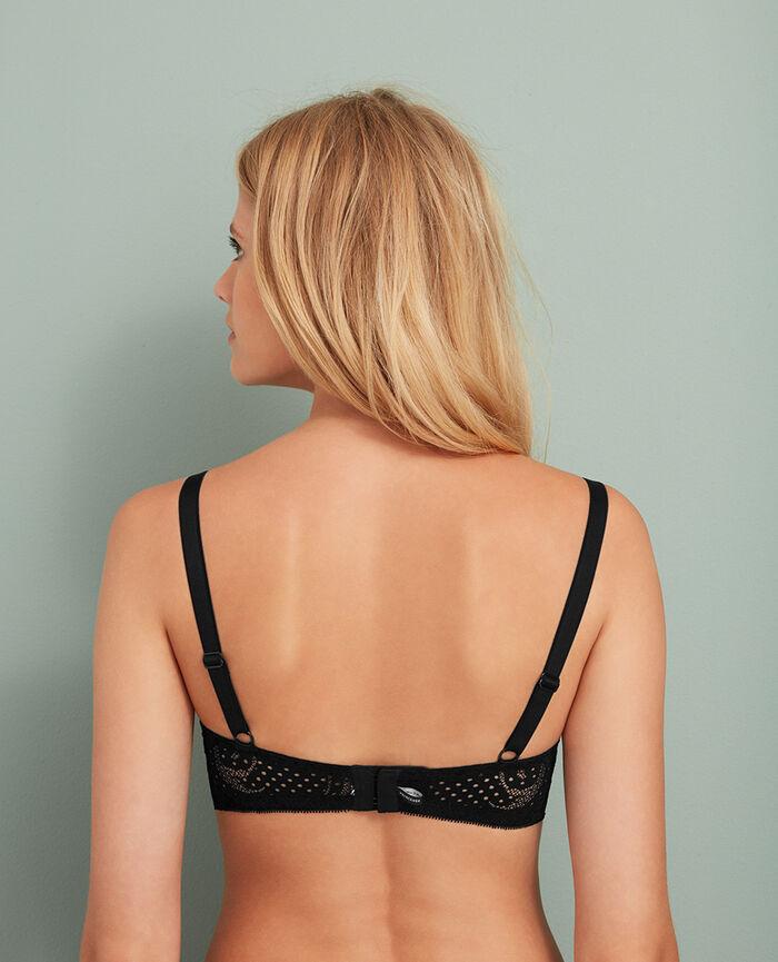 Underwired bra Black Metropolitan