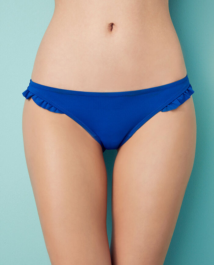 High-cut bikini briefs Mascara blue Princesse tam.tam x uniqlo