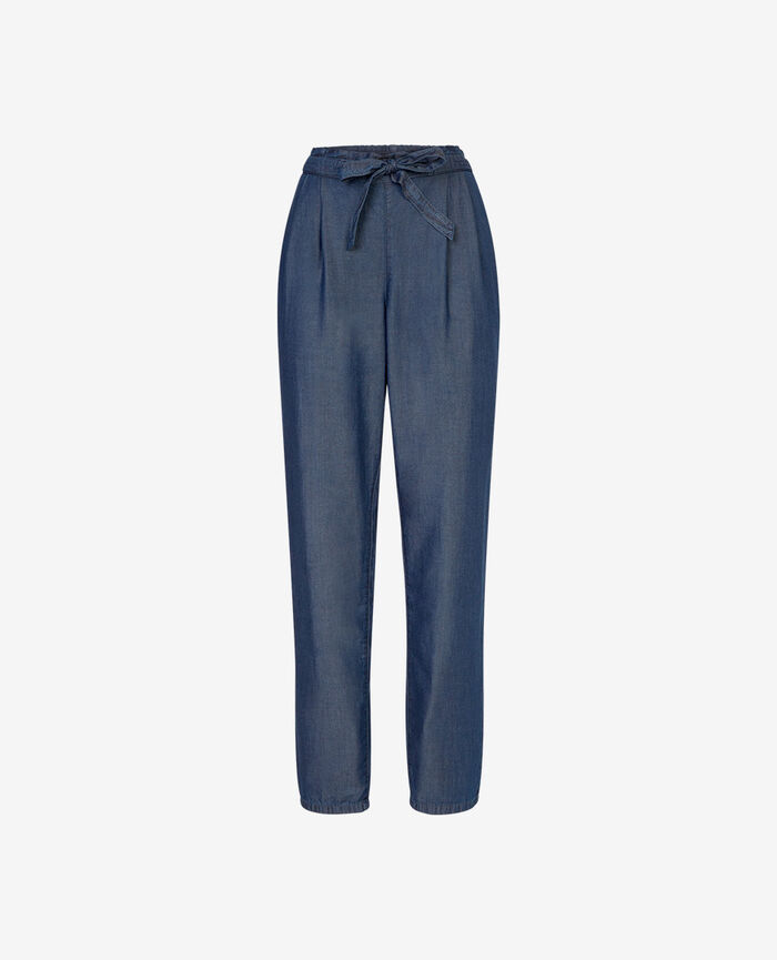 Pantalon Bleu denim Easy