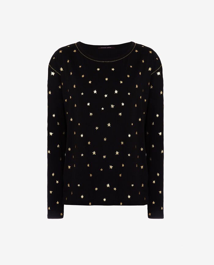 T-shirt manches longues Nova noir Magic