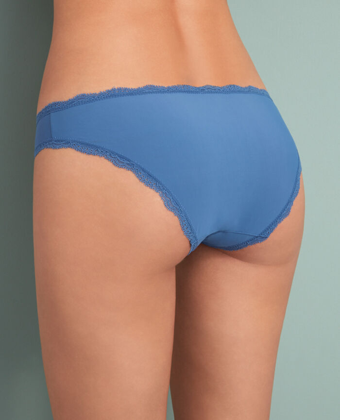 Culotte taille basse Bleu river Take away