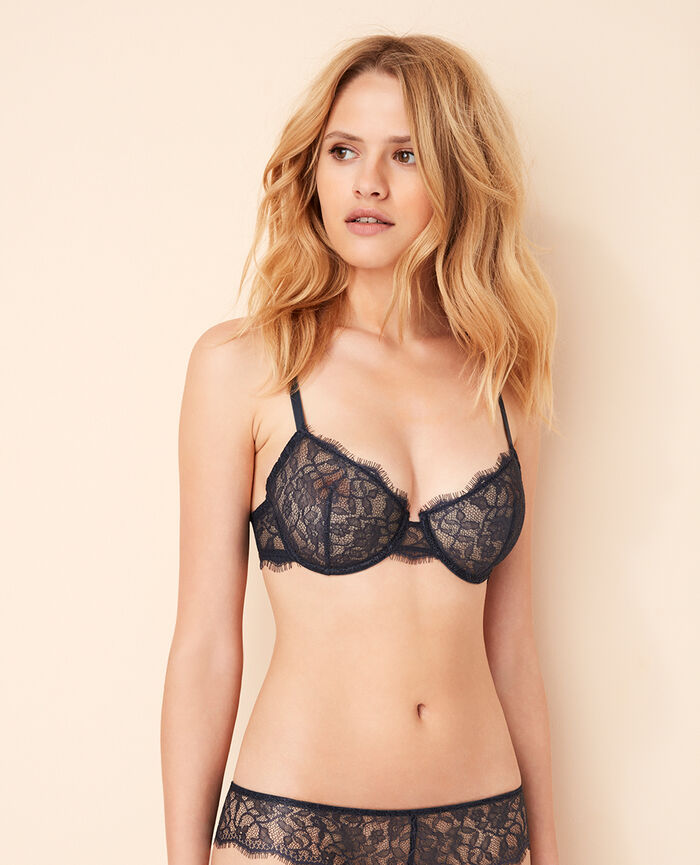 Half-cup bra Kinetic grey Taylor