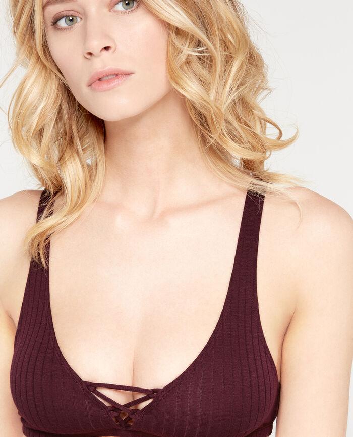 INFINITY Royal chocolate Soft cup bra