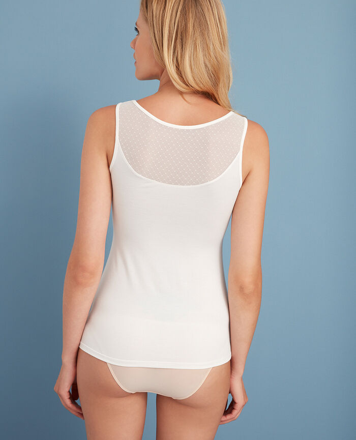 Vest top Rose white Innerwear