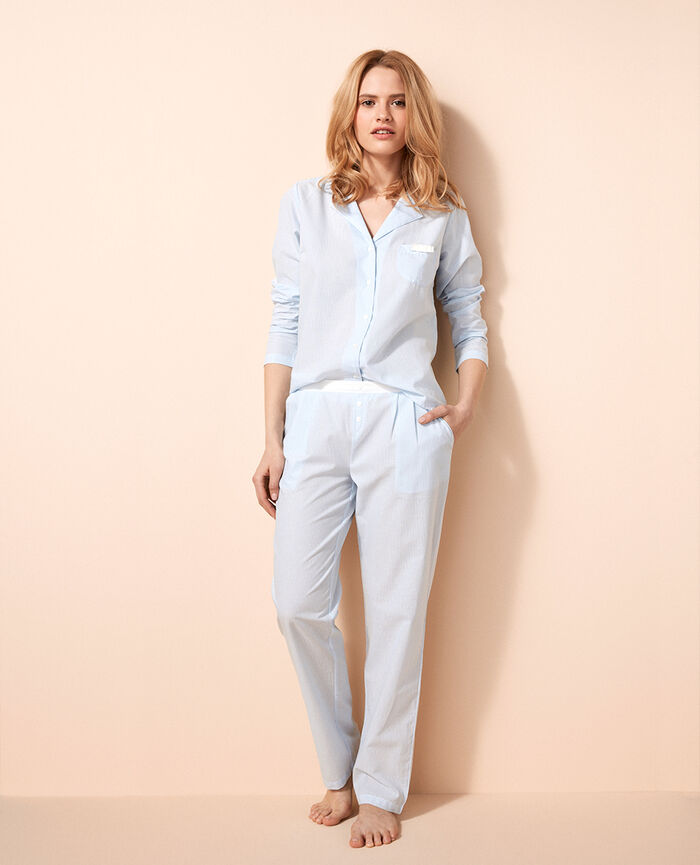 Trousers Diamond blue Zazou