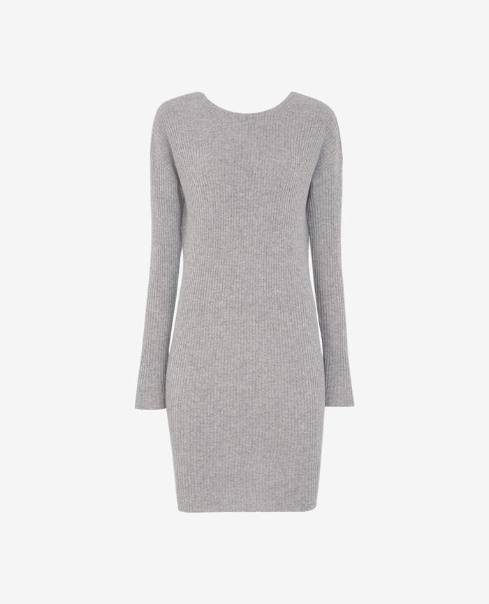 COZY Light grey Dress