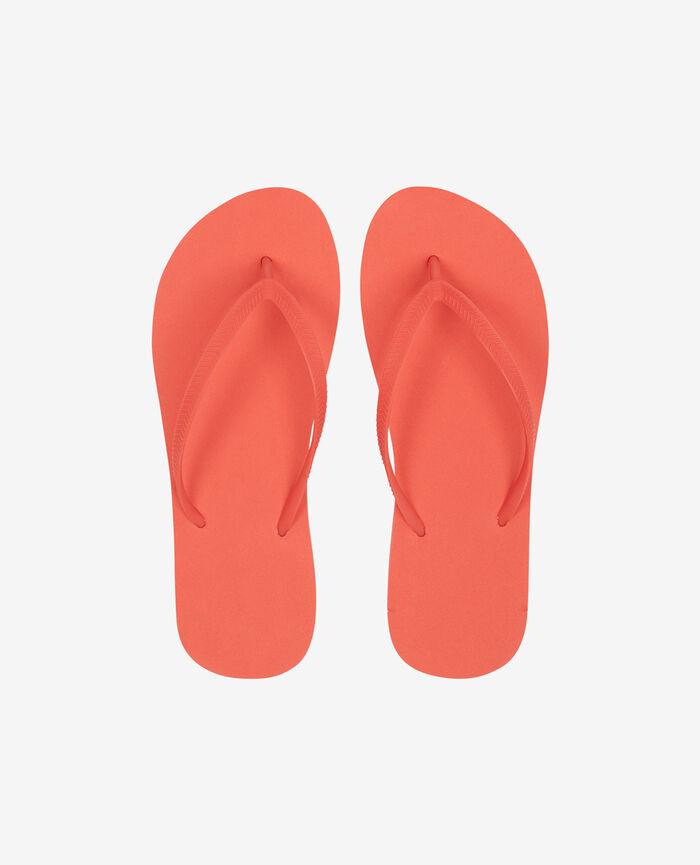Thongs Coral orange Princesse tam.tam x uniqlo