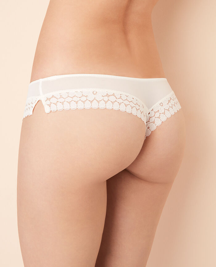 MONICA Rose white Tanga