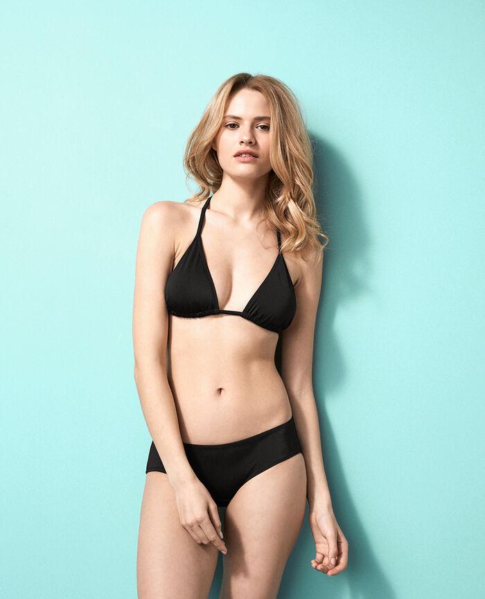 Padded triangle bikini top Black Princesse tam.tam x uniqlo