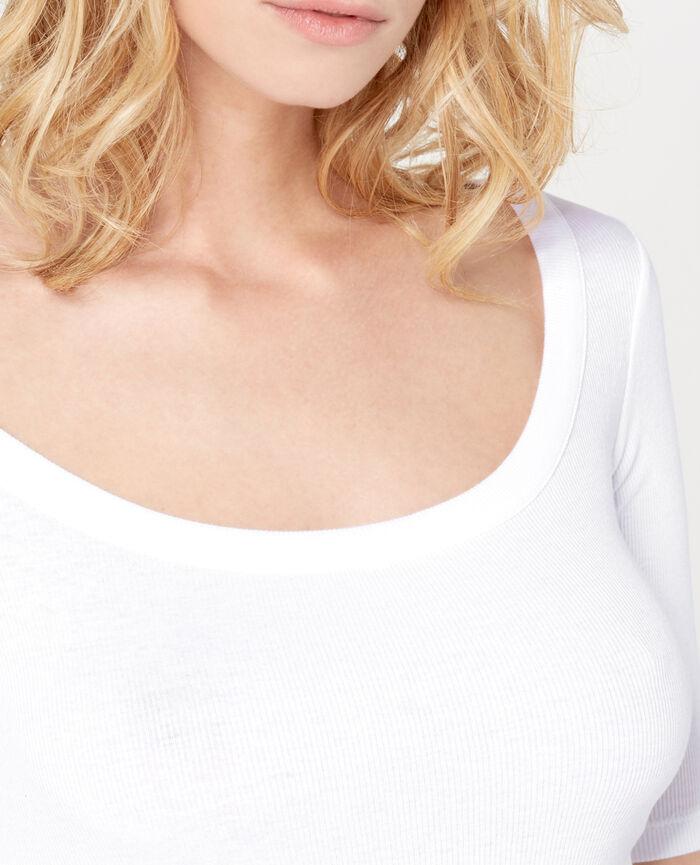 RICKY White Short-sleeved t-shirt