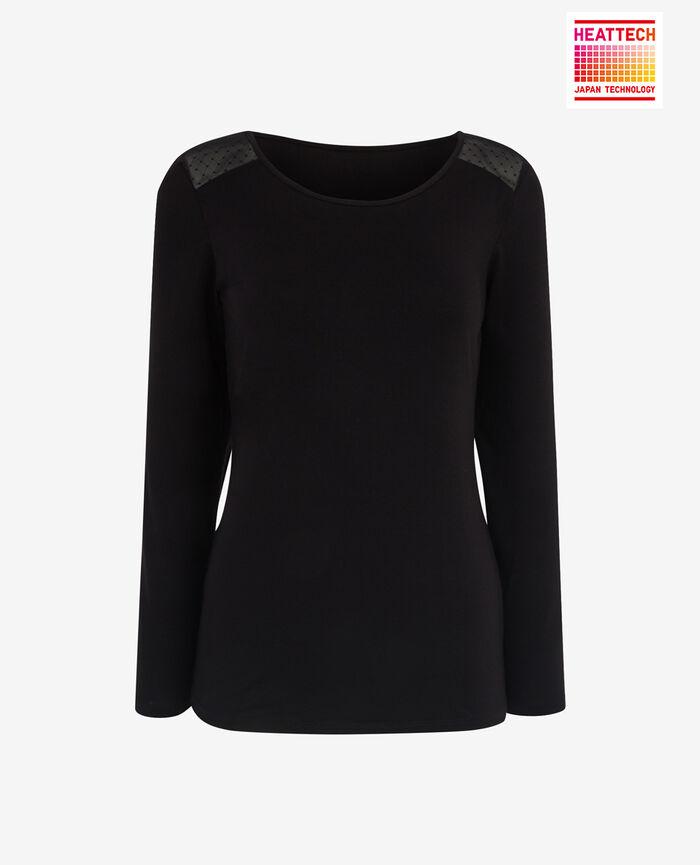Langärmliges T-Shirt Schwarz INNERWEAR