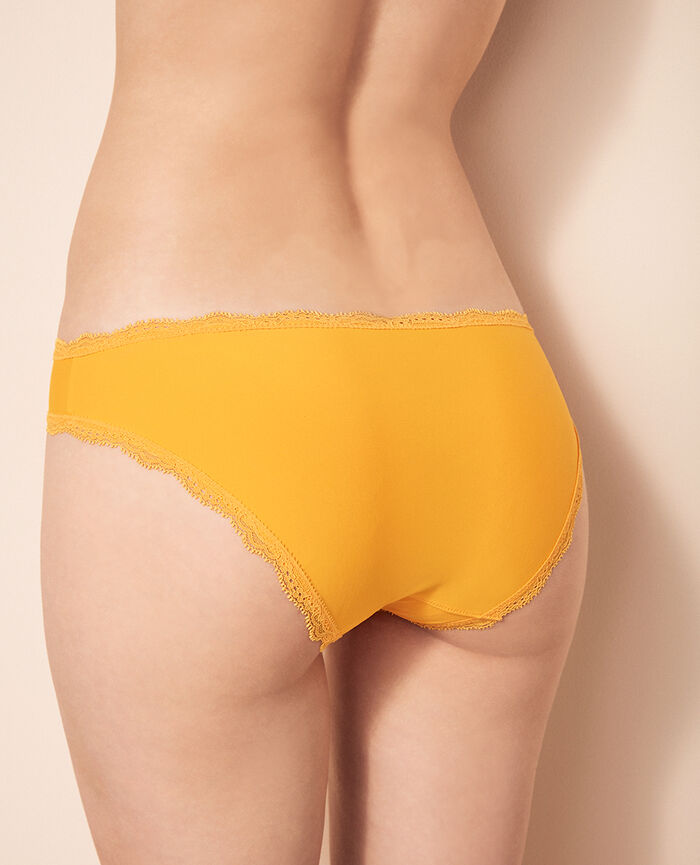 Culotte taille basse Jaune banana Take away