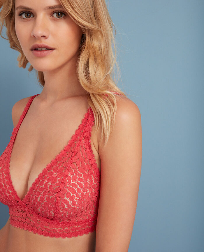 Backless triangle bra multi-position Mademoiselle rose Monica