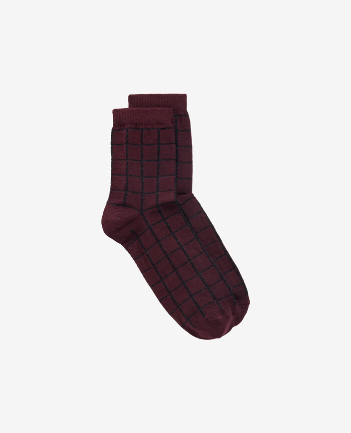 Socken Royal Chocolate CHECK