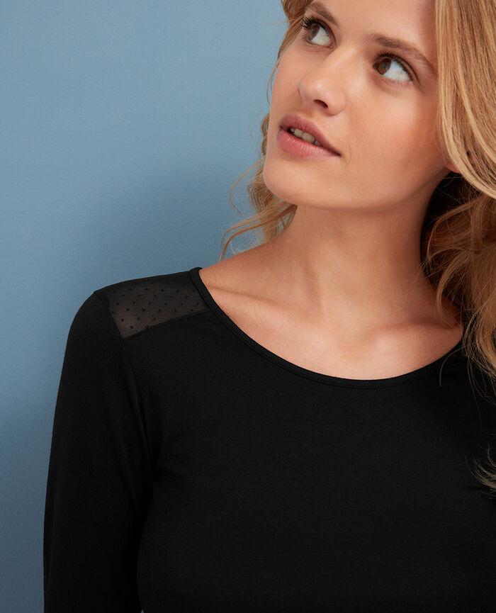 Long-sleeved t-shirt Black Innerwear