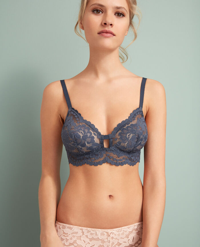 Soft cup bra Subway grey Angelina