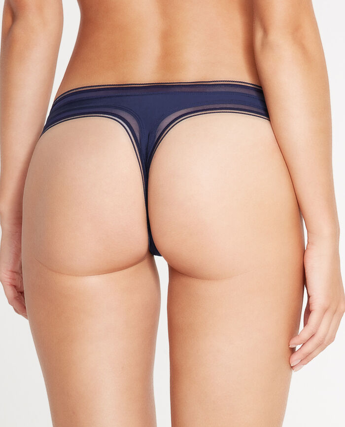 MAKE UP Navy Thong