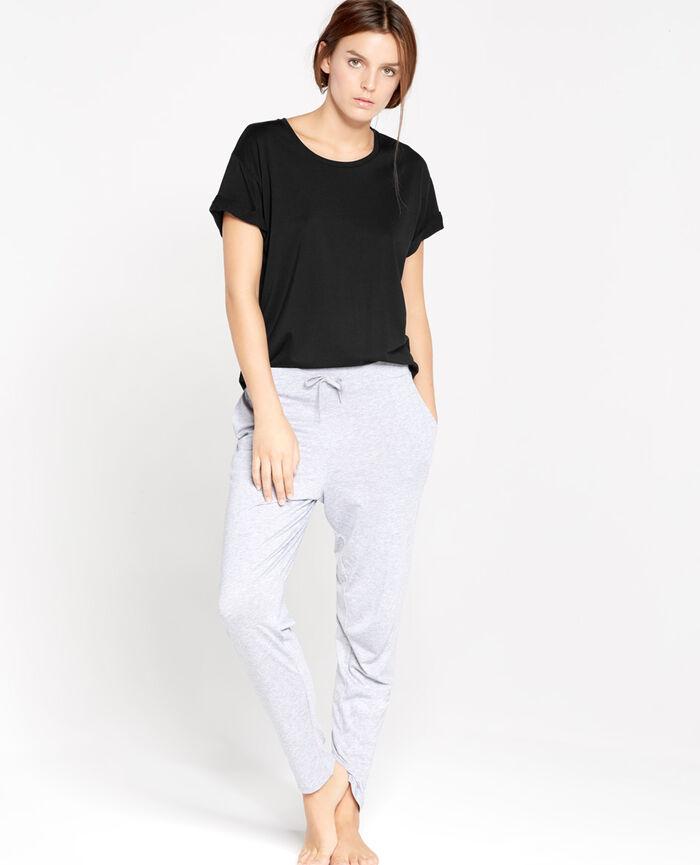 EMY Noir T-shirt manches courtes