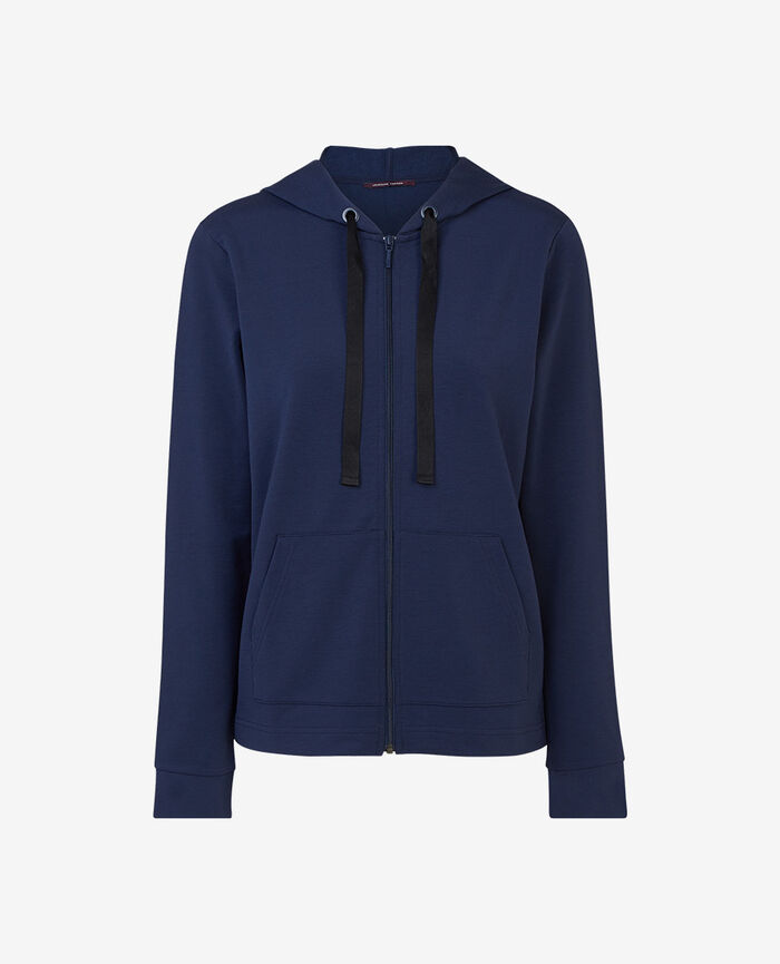 Kapuzenjacke Marineblau AIR LOUNGEWEAR