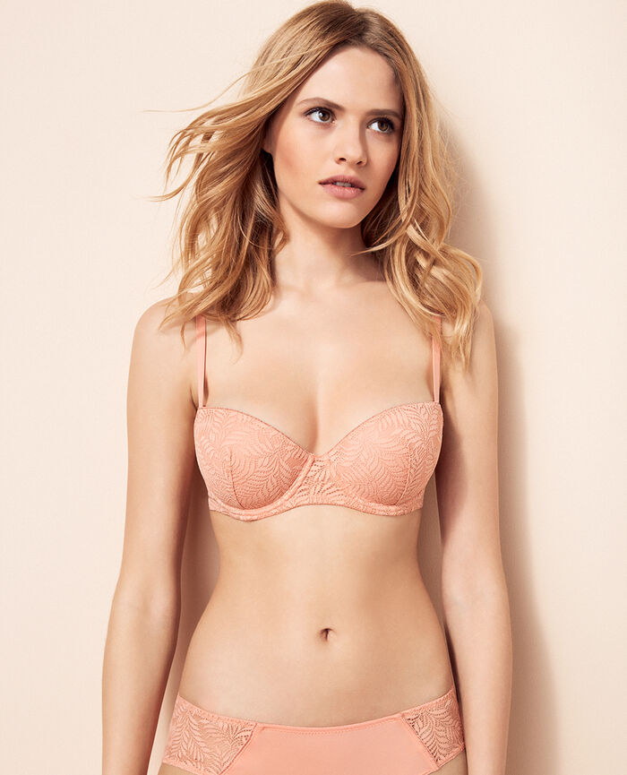 Medium contour push-up bra Toucan pink Kilimanjaro