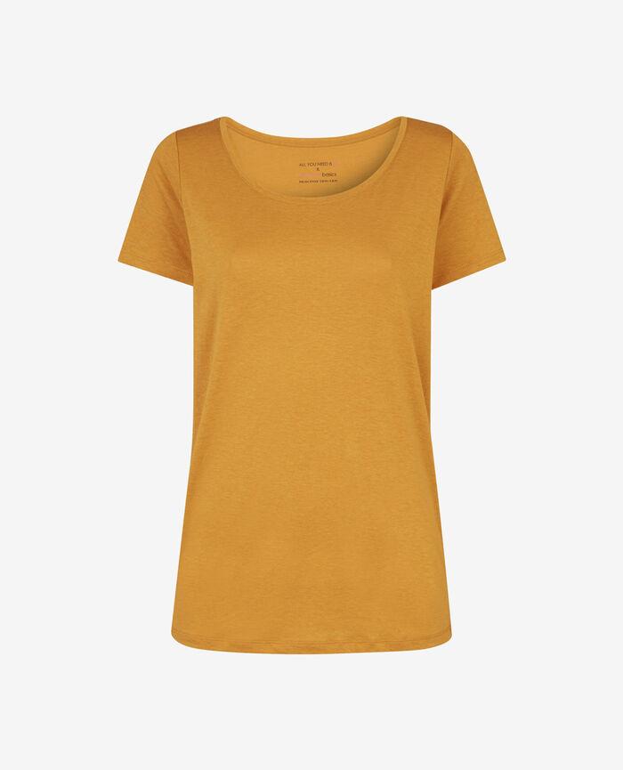 LATTE Turmeric brown Short-sleeved t-shirt
