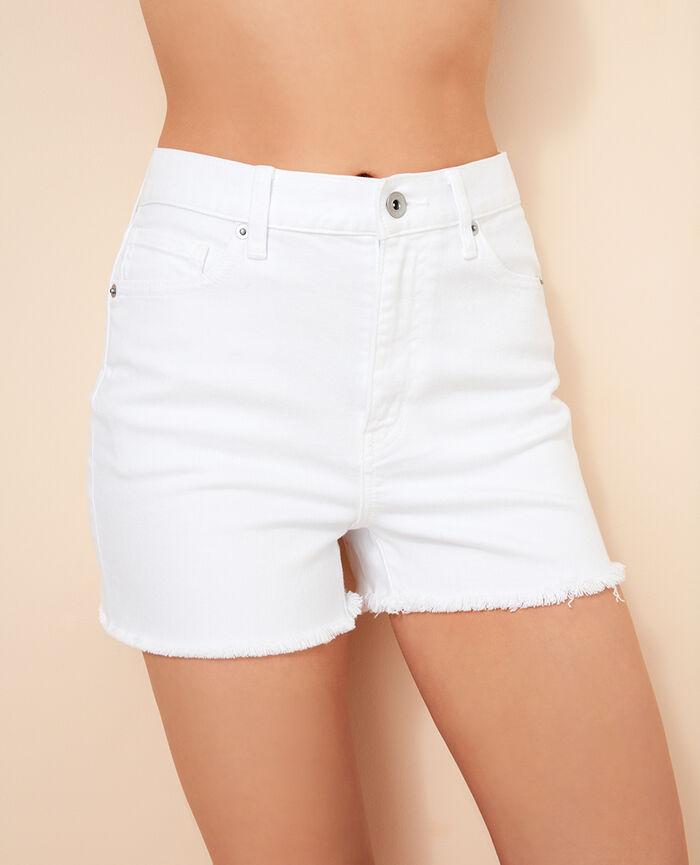 Short Blanc Jean