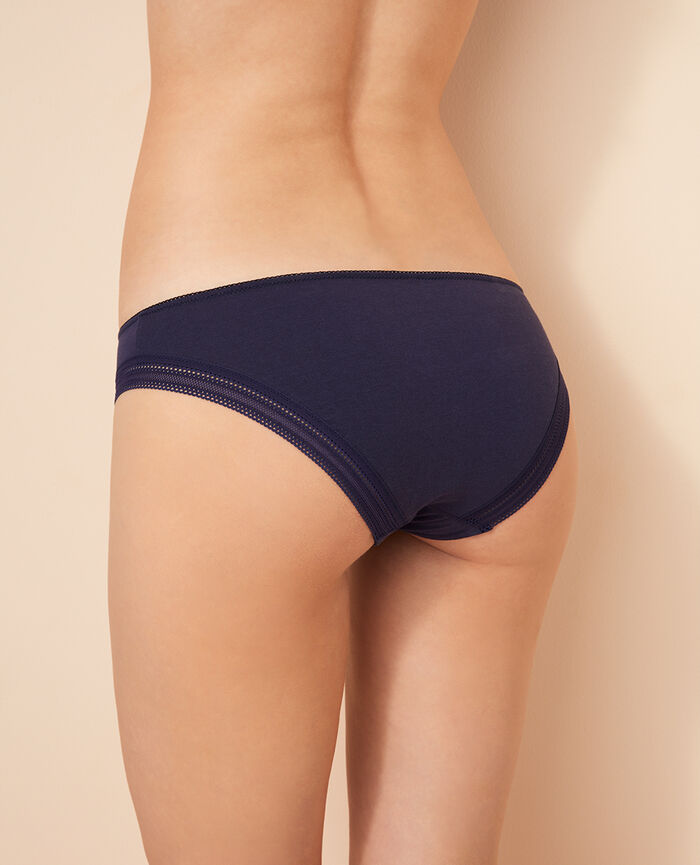 Hipster briefs Denim blue Coton