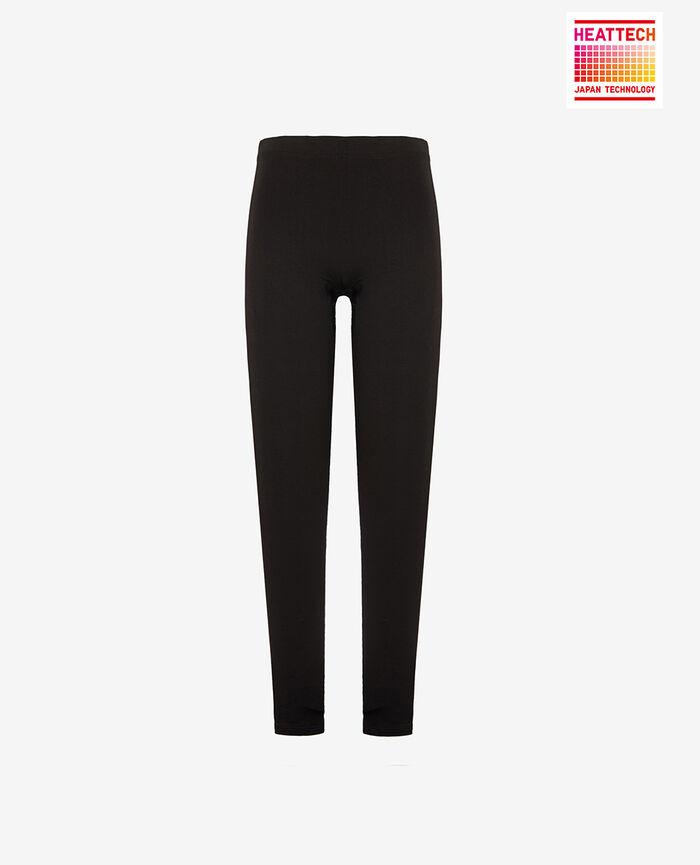 Leggings Black Innerwear heattech extra warm©