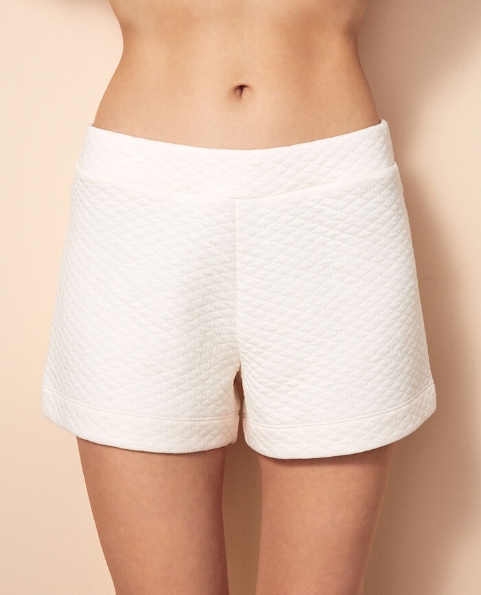 Boxer shorts Rose white Fancy sweat