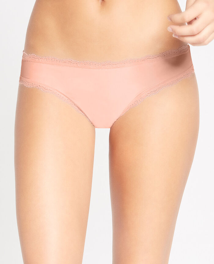 TAKE AWAY Rose nuage Culotte taille basse