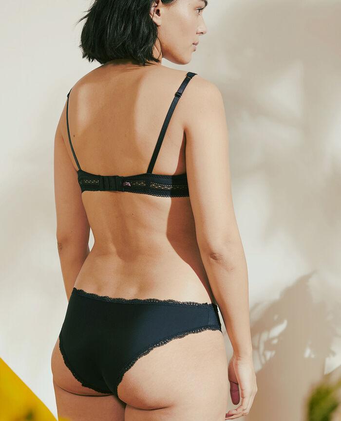 Culotte taille basse Noir Take away