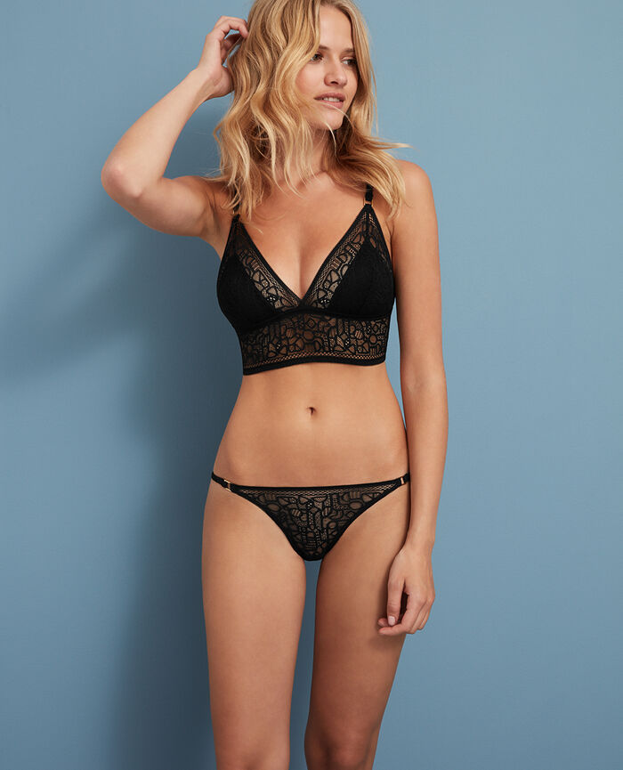 Soft cup bra Black Manhattan