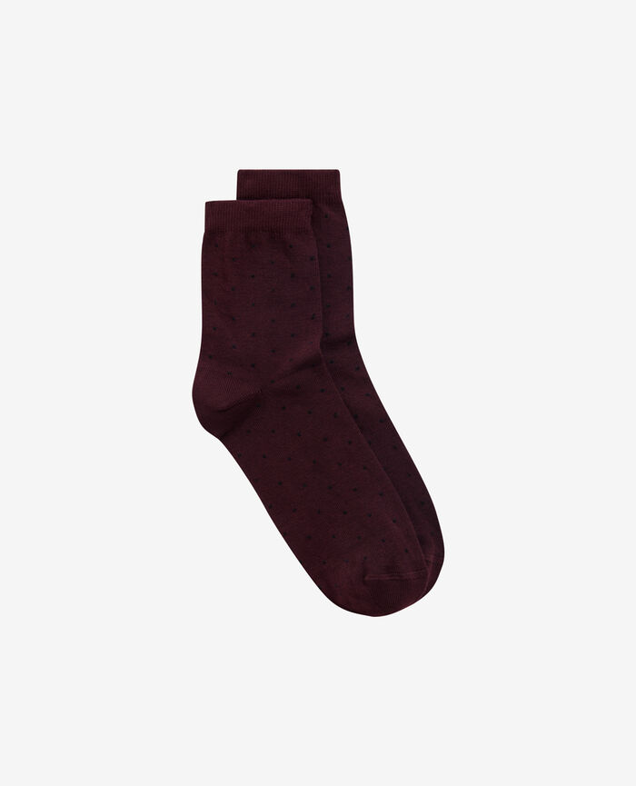 PLUMETIS Royal chocolate Socks
