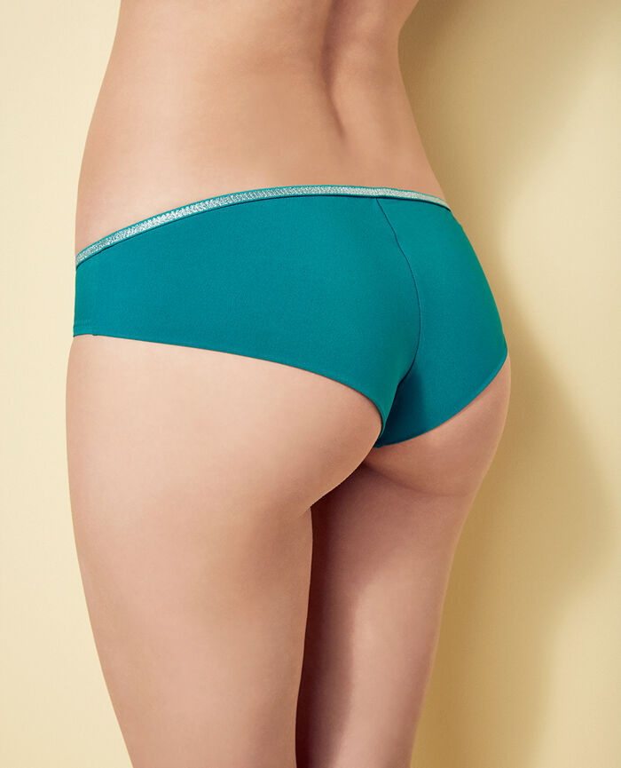 Brazilian bikini shorts Pigment green Ohlala