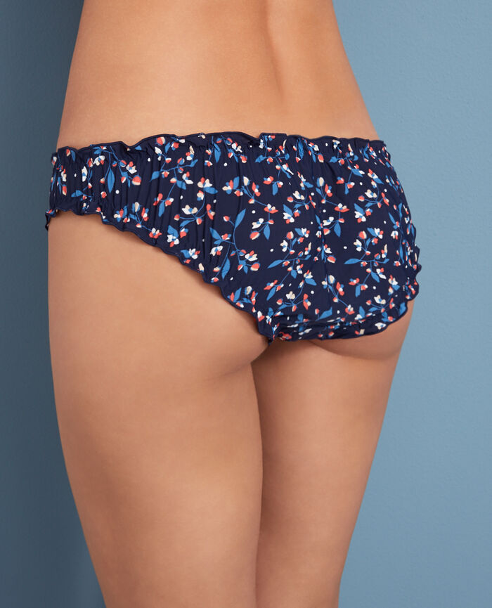 Culotte fantaisie Fleurette bleu Take away