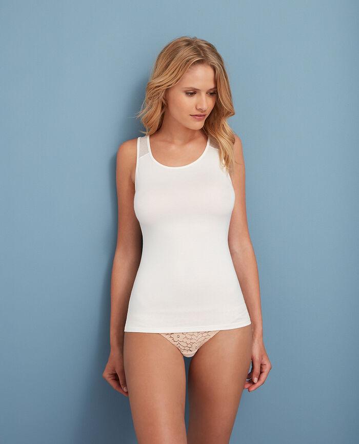 Vest top Rose white Innerwear