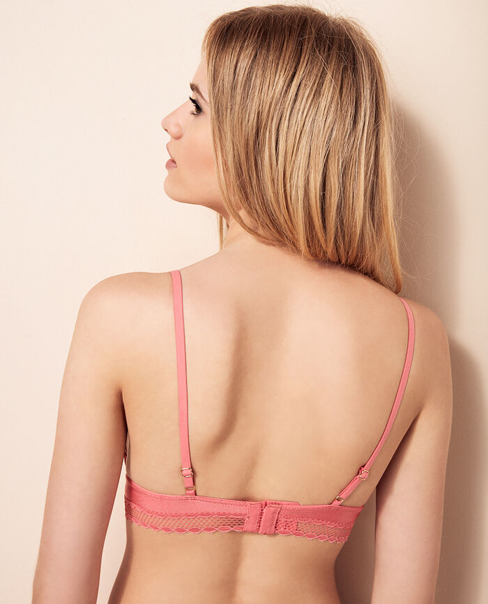 Soft cup bra Bubble pink Air lingerie