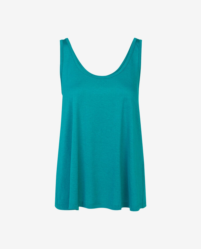 Vest top Pigment green Latte