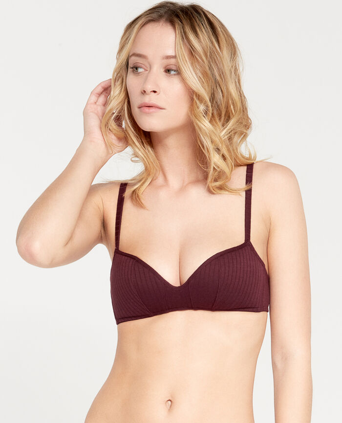 INFINITY Royal chocolate Soft push-up bra