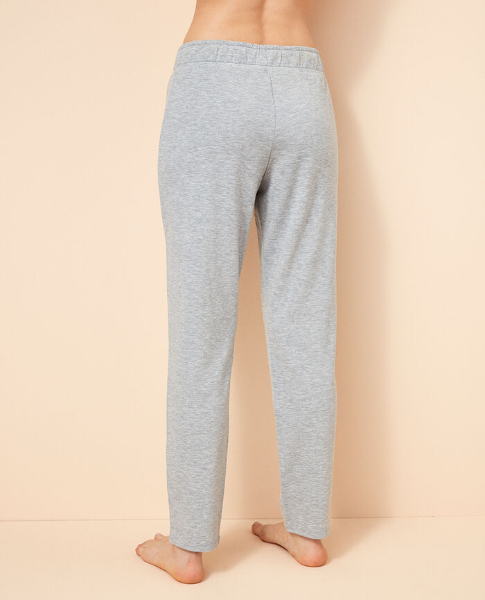 Jogginghose Grau meliert AIR LOUNGEWEAR