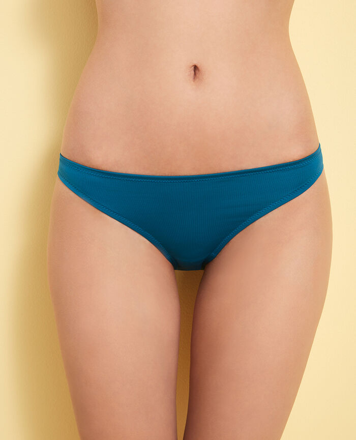 High-cut bikini briefs Aiolos blue Mix & match