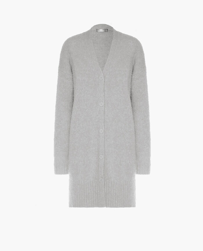 Long bathrobe Grey Loop