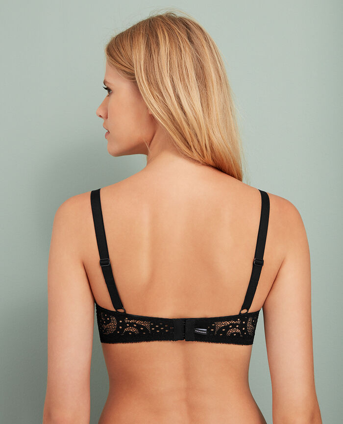 Demi push-up bra Black Metropolitan