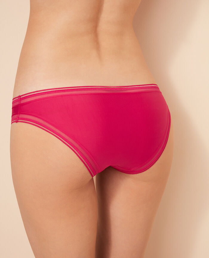 Hipster briefs Bling pink Make up