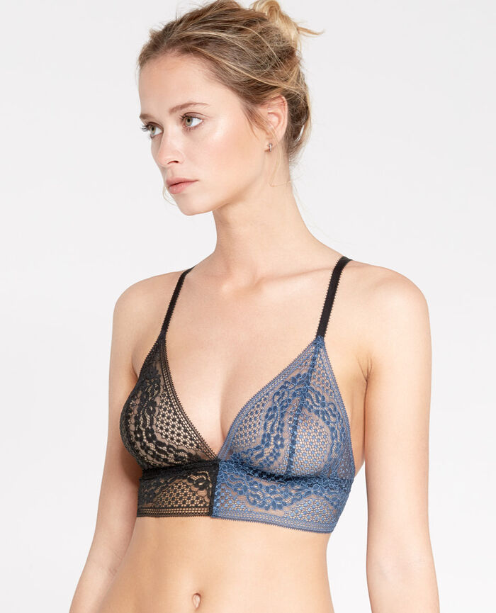 VERTIGE Abyss black Soft cup bra