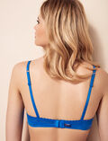 Underwired bra Samba blue Beaute
